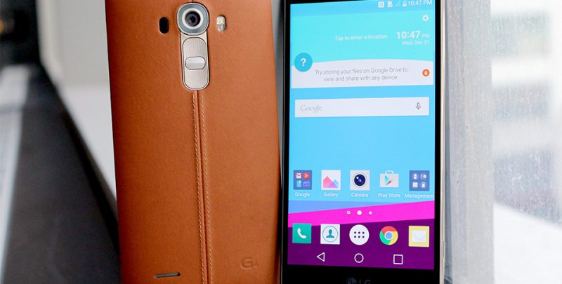 LG to rollout Android Nougat 7 0 update for G4 and V10
