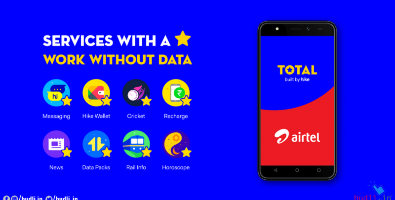 Hike Total Allows You to Make Payments, Send Messages and More without Mobile Data