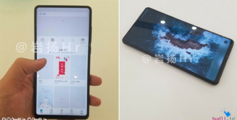 Leaked Images Of Xiaomi Mi MIX 2S Reveal Extremely Thin Bezels And No Notch