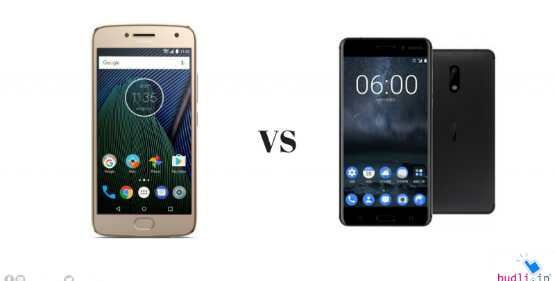 Moto G5 Plus vs Nokia 6