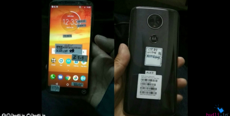 Real Life Images of the Moto E5 Plus Leaked Online