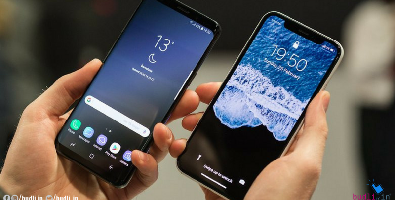 Samsung Galaxy S9 Plus Vs Apple iPhone X - The Face Off