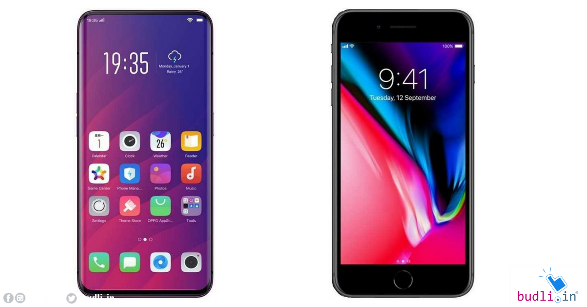 oppo find x vs iphone 8  everything you need to know