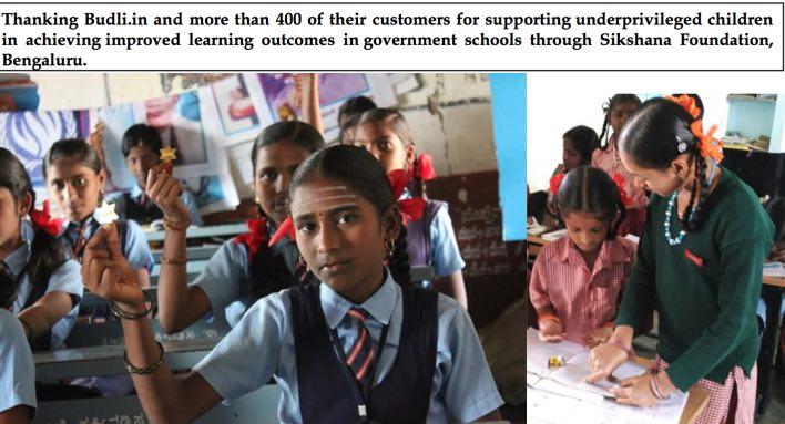 Budli partnership with Shikshana